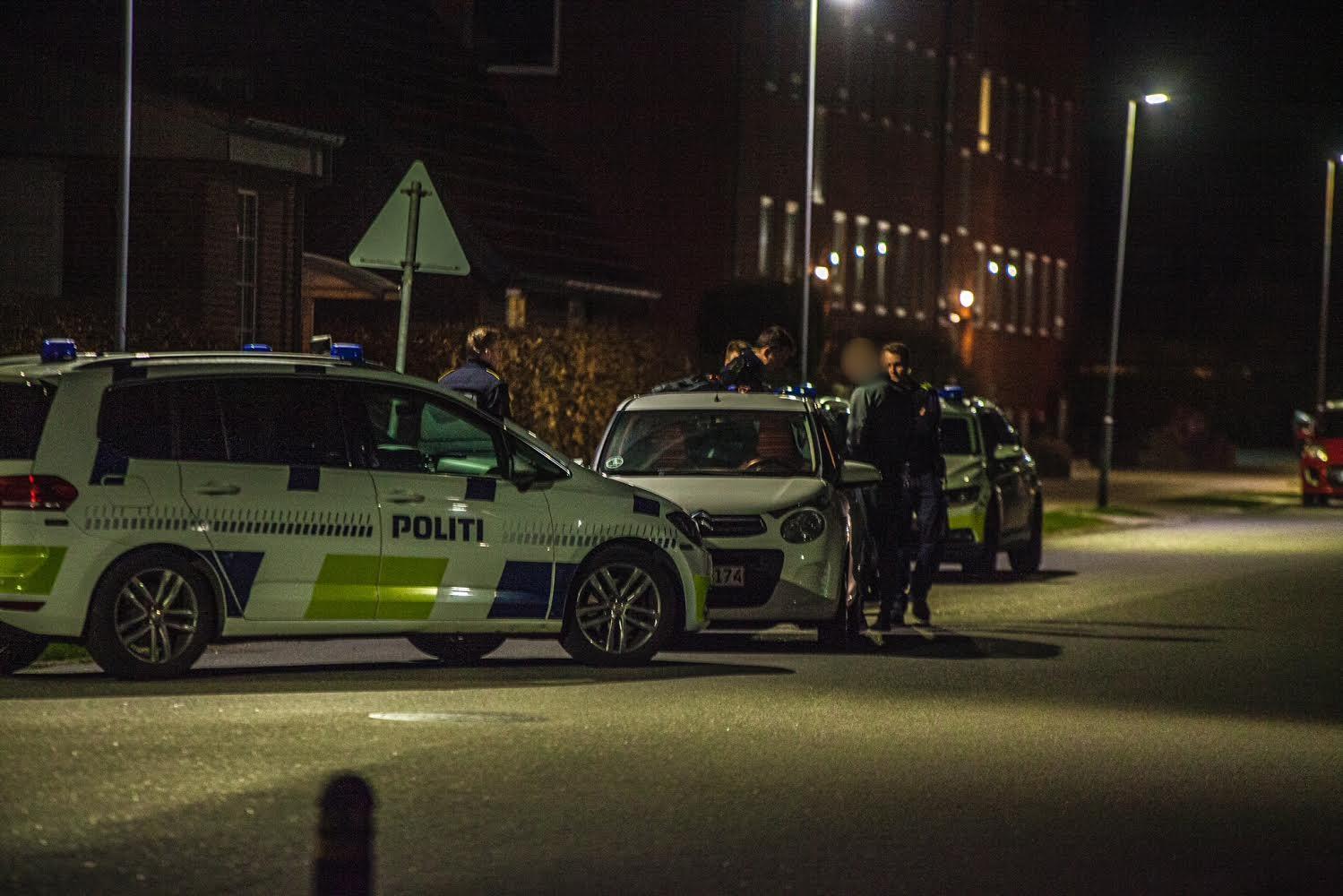 Ransagning af stoppet køretøj i Esbjerg