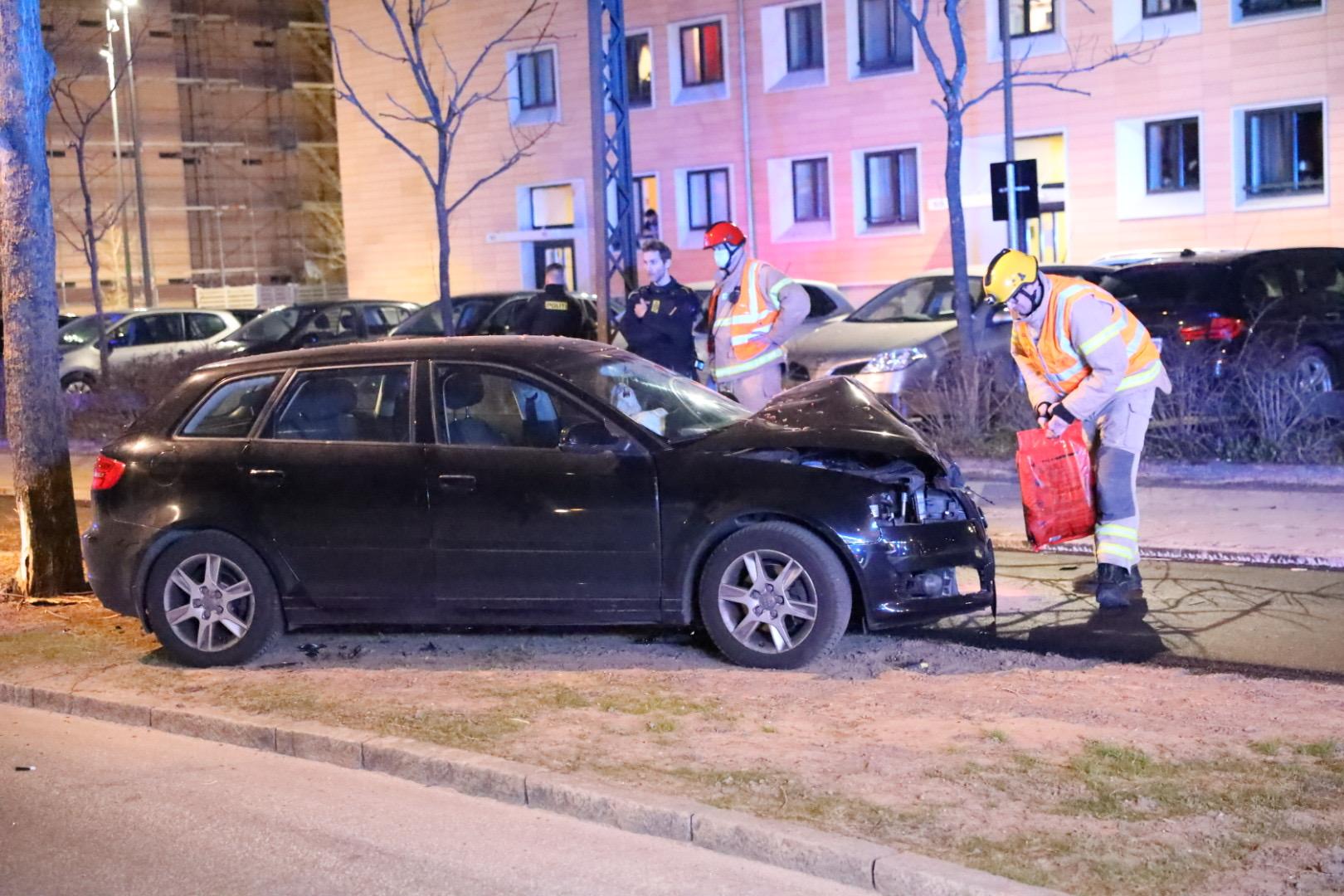 Færdselsuheld i Valby