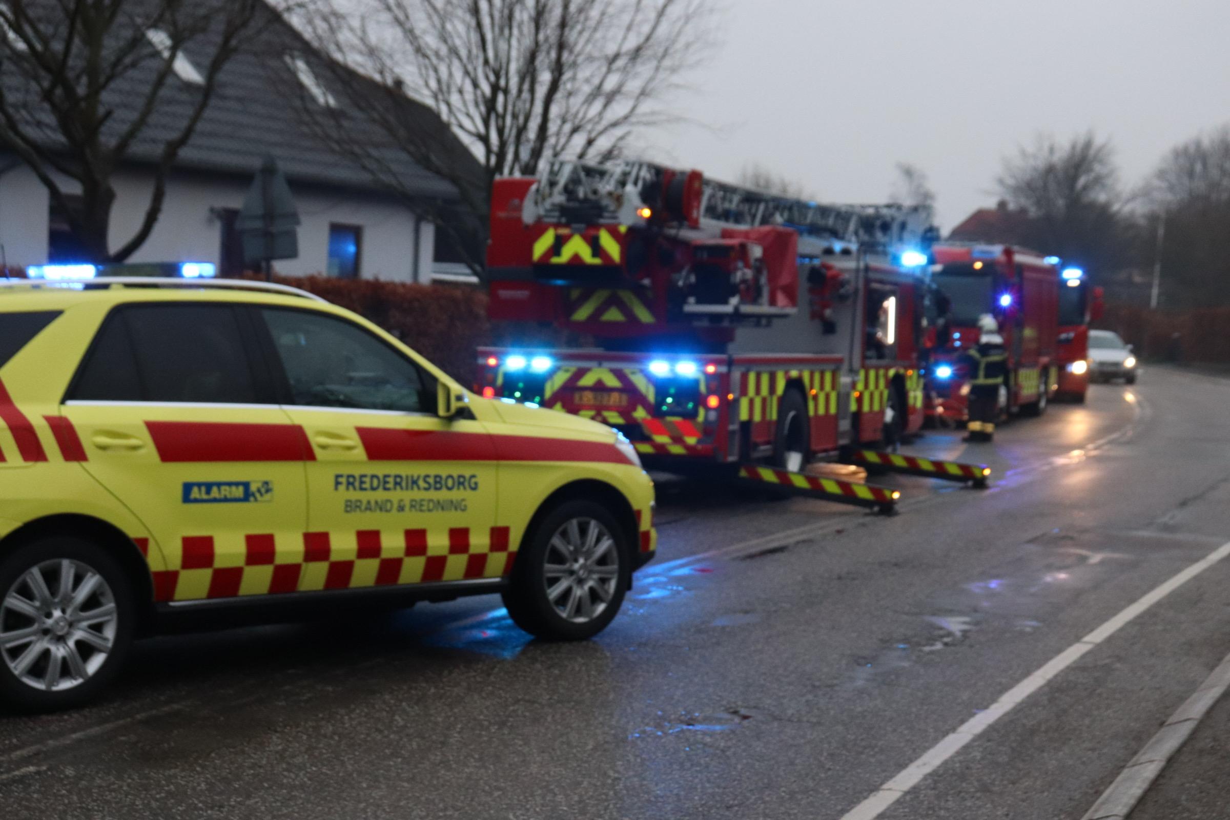 Skorstensbrand i Frederiksværk
