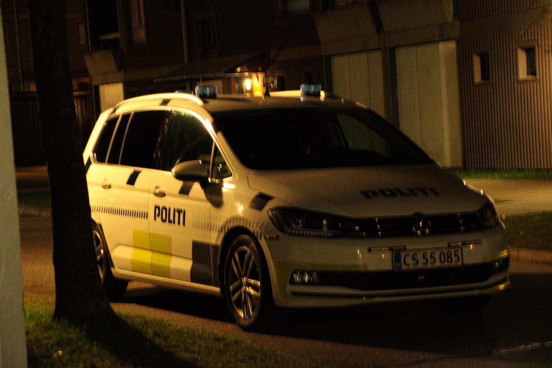 Politiet patruljer i Roskilde