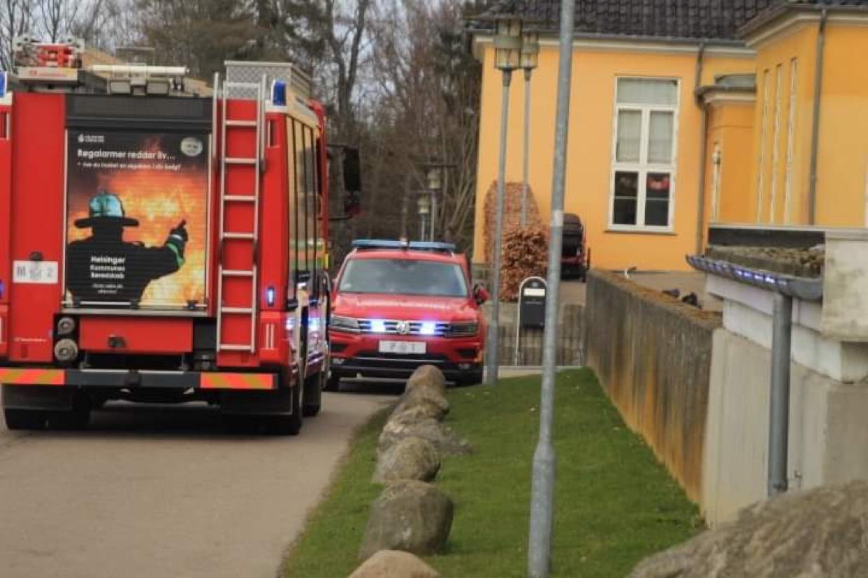 Brandalarm på ældrecenter i Helsingør