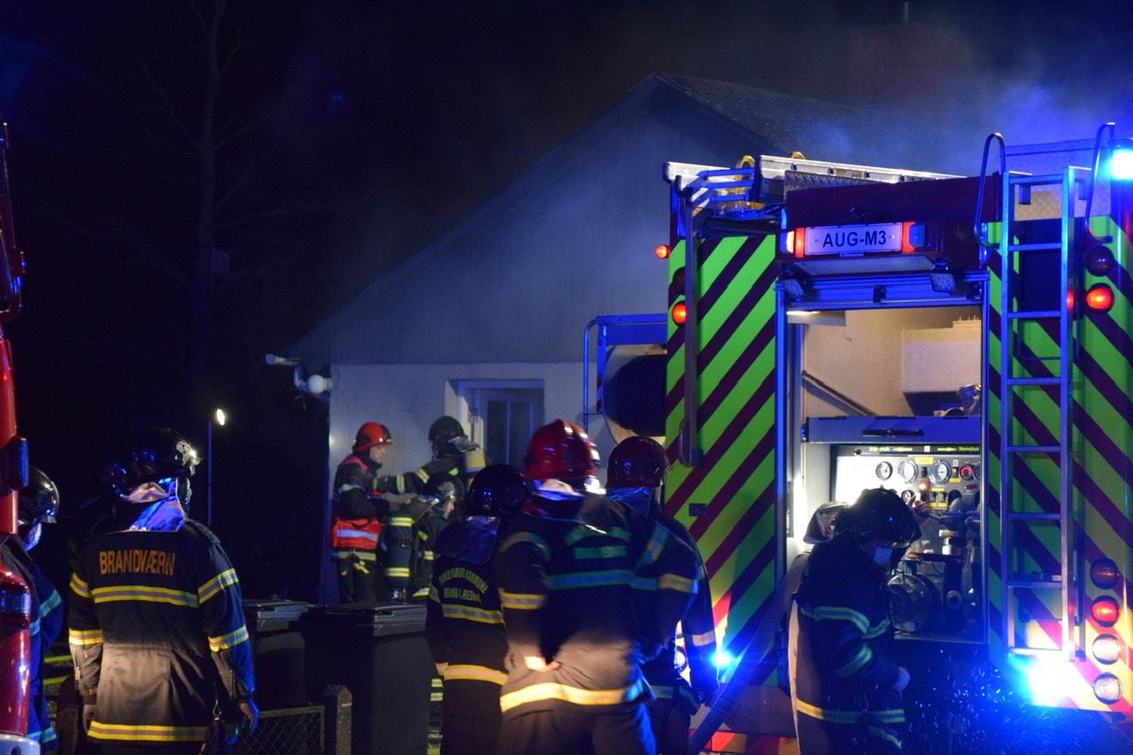 Ild i villa i Augustenborg