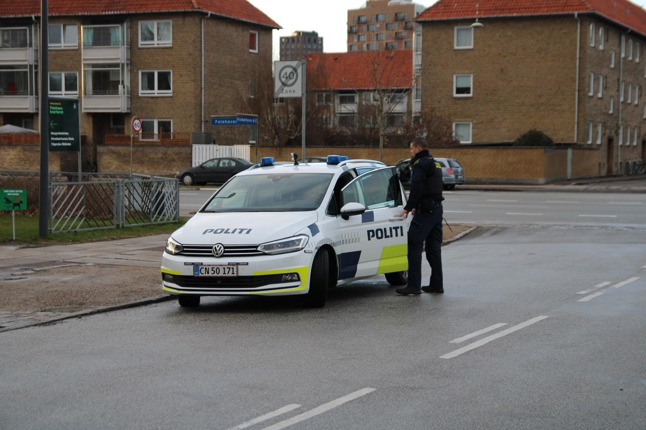 Muligt knivstikkeri i Valby