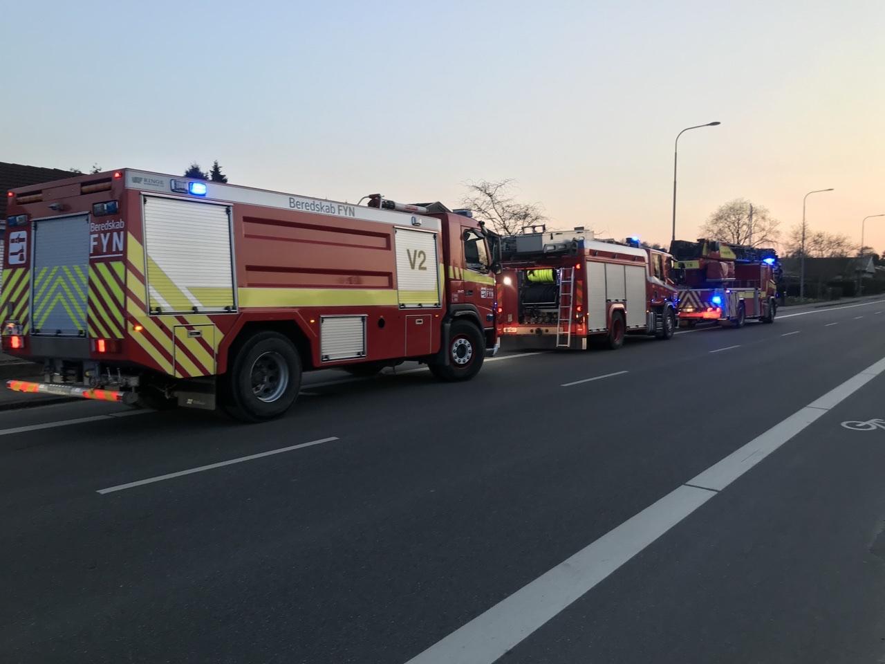 Brand i Odense tirsdag aften