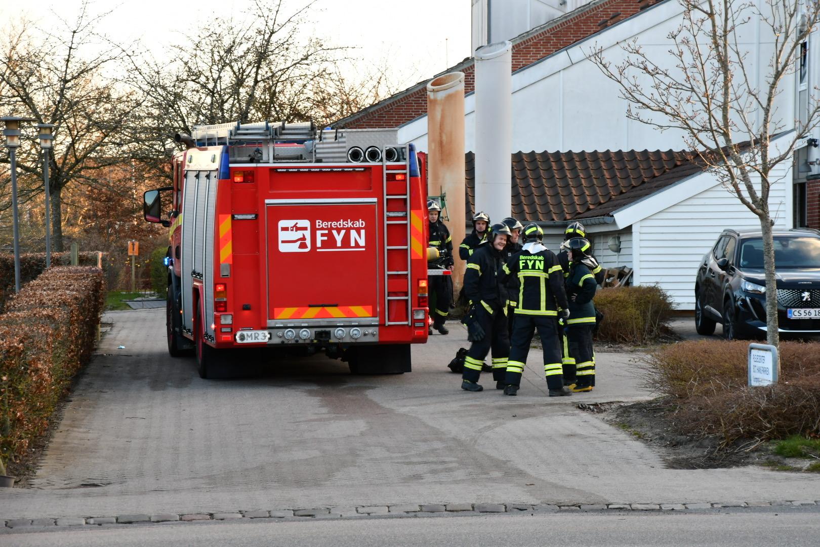 Aktiveret brandalarm på Plejecenter
