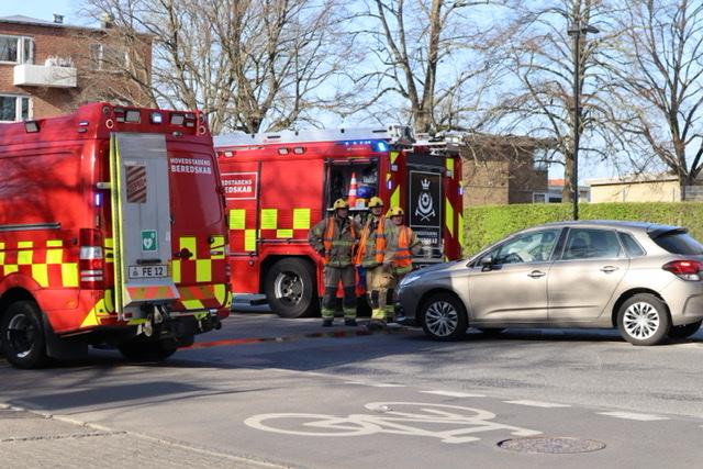 Mindre uheld i København tirsdag