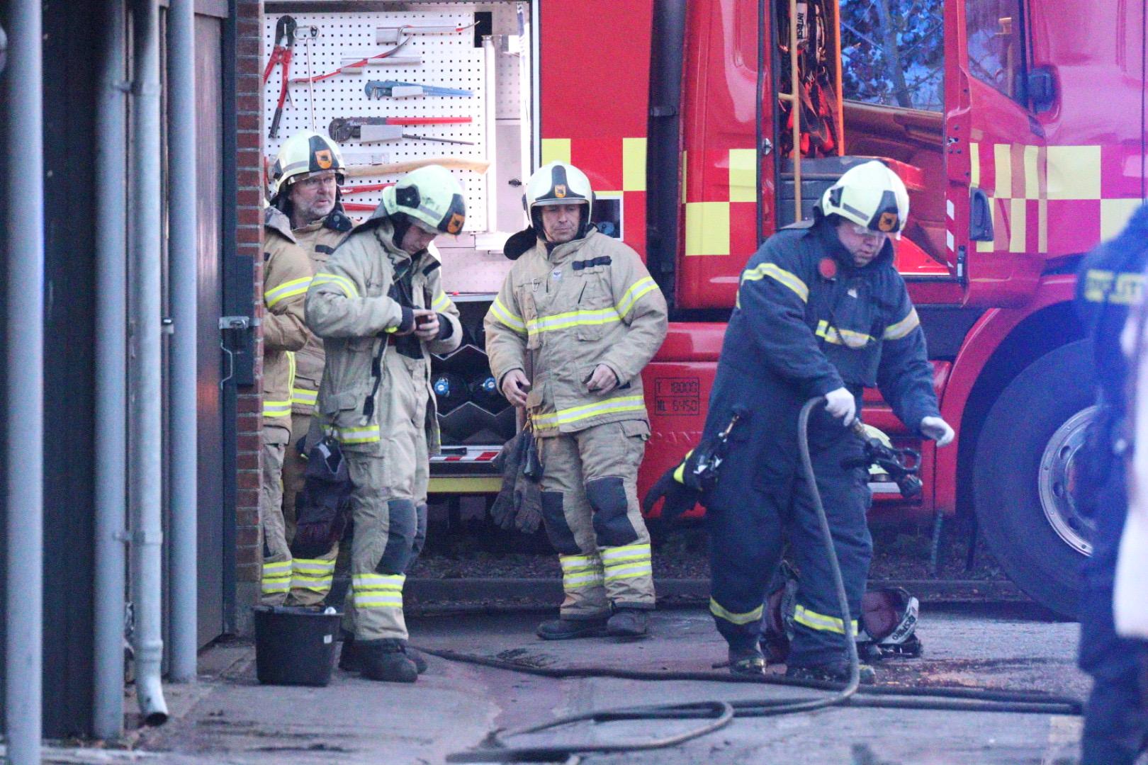 Brand på Gylling skole nær Odder