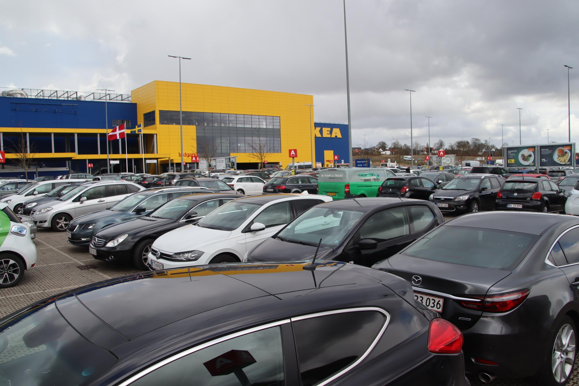 Genåbning af Ikea i Aarhus - uden tidsbestilling
