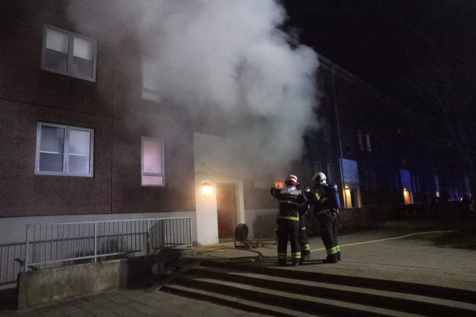 Bygningsbrand i Herlev