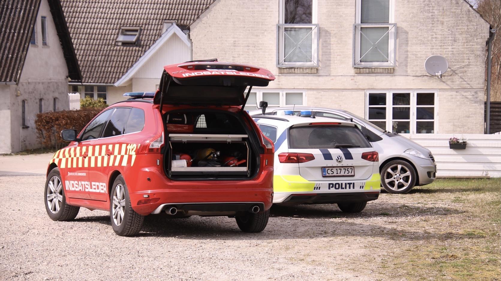 Gårdbrand i Fredensborg - startet af ukrudtsbrænder
