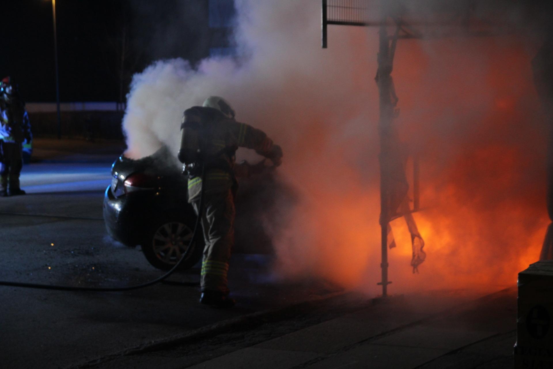 Bilbrand på Frederiksberg