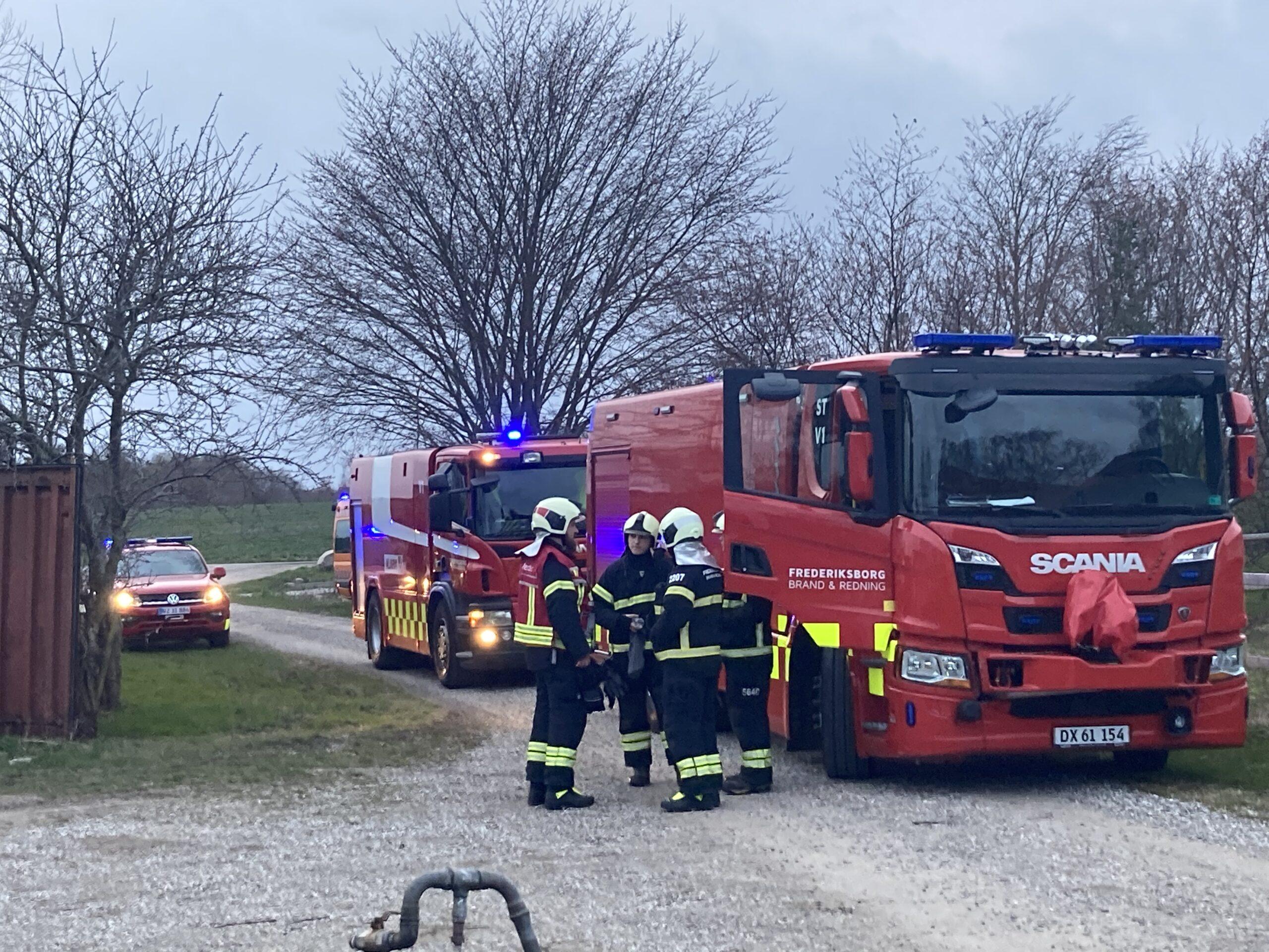 Gårdbrand i Frederikssund