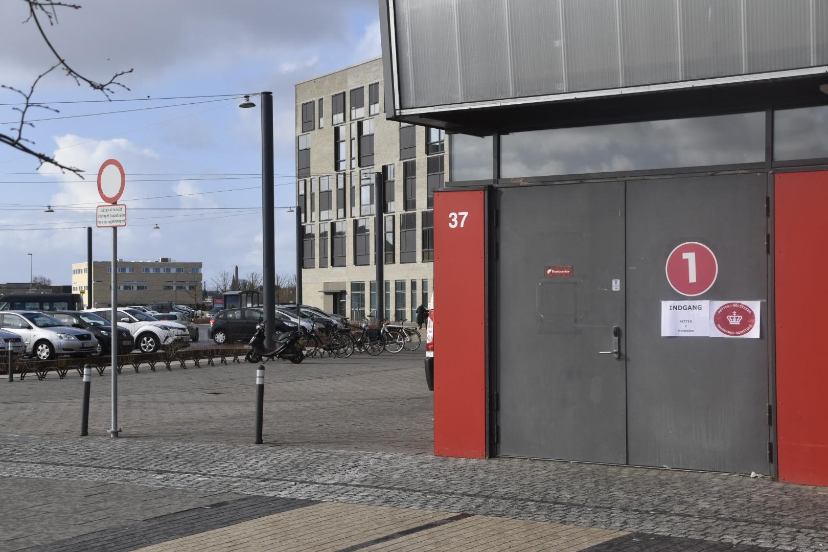 Gråkjær Arena i Holstebro, danner i dag rammen, i stor retsag