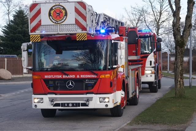 Brand på forsorgshjem i Viborg