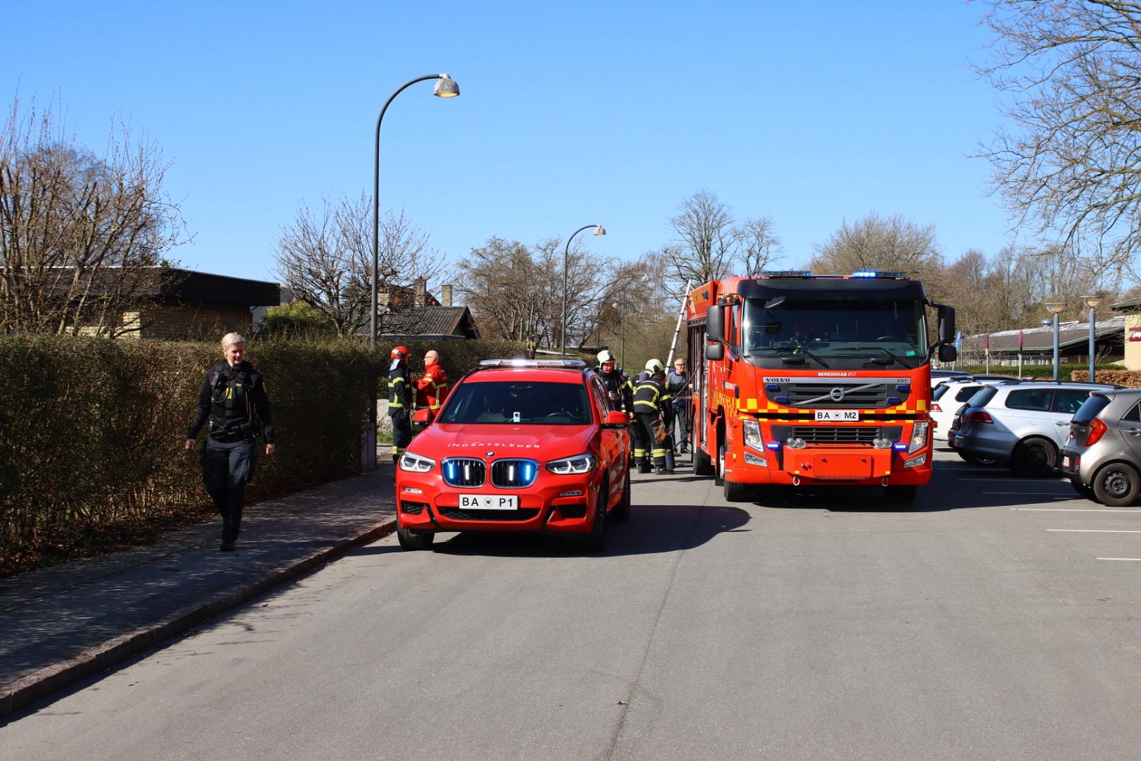 Carport i brand i Herlev