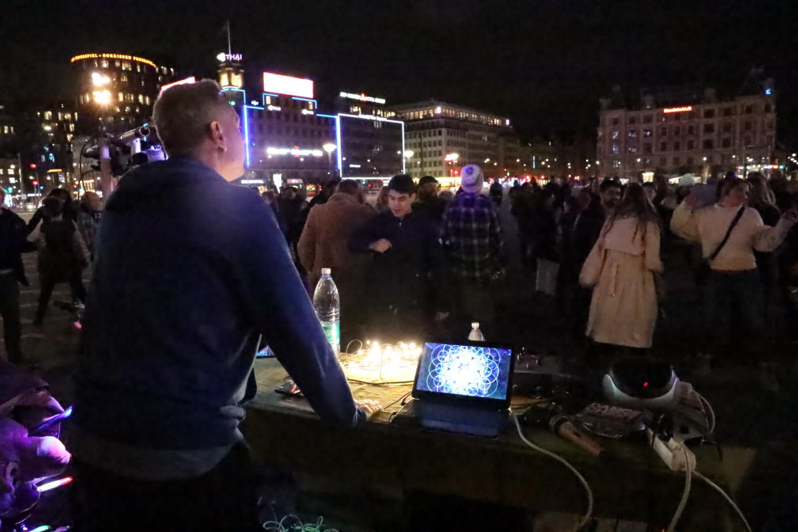 Stor danse demonstration i København