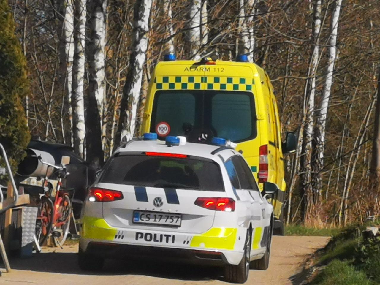 Mindre ulykke i Hornbæk