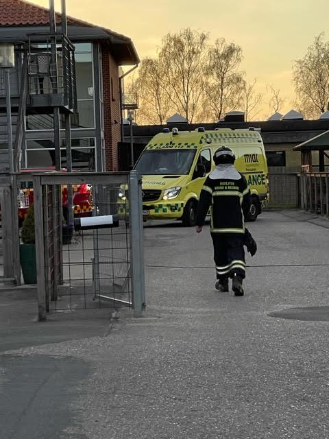 Brand på plejecenter i Viborg