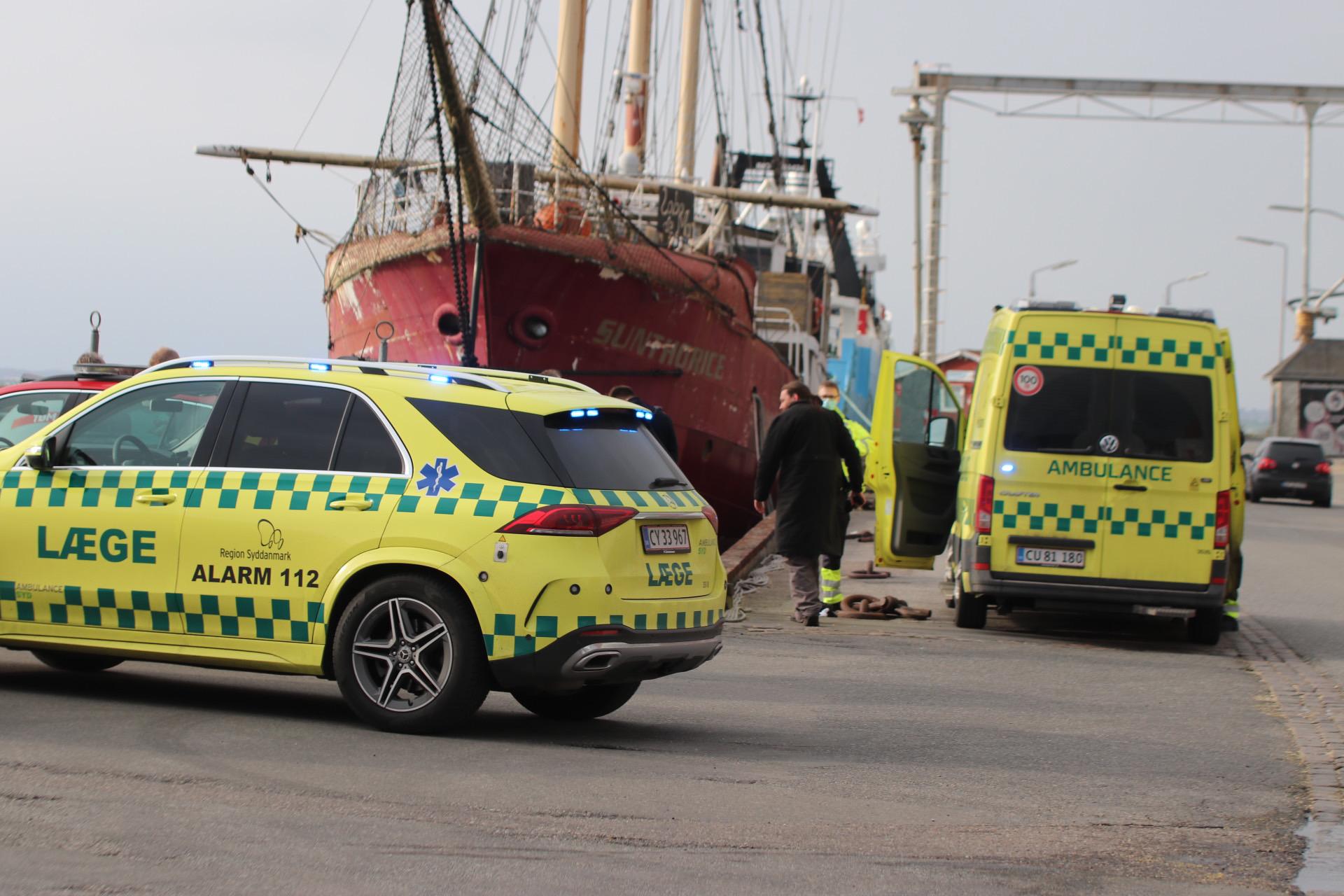 Drukneulykke i Assens