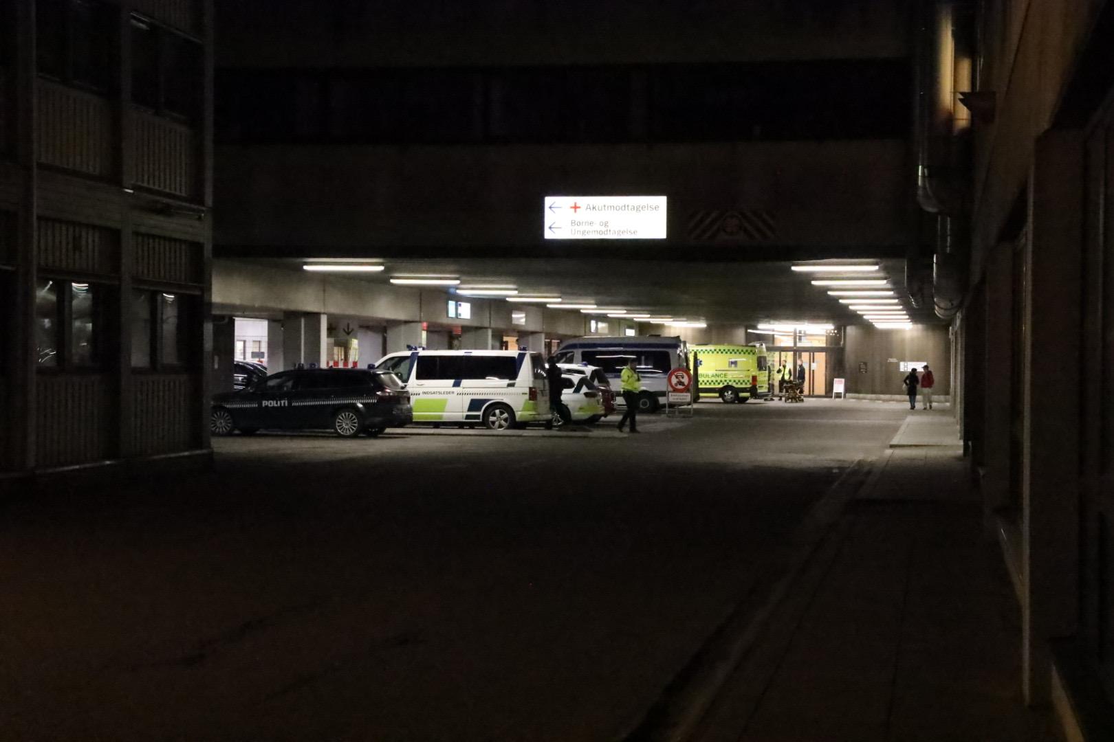 Politiaktion på Herlev sygehus