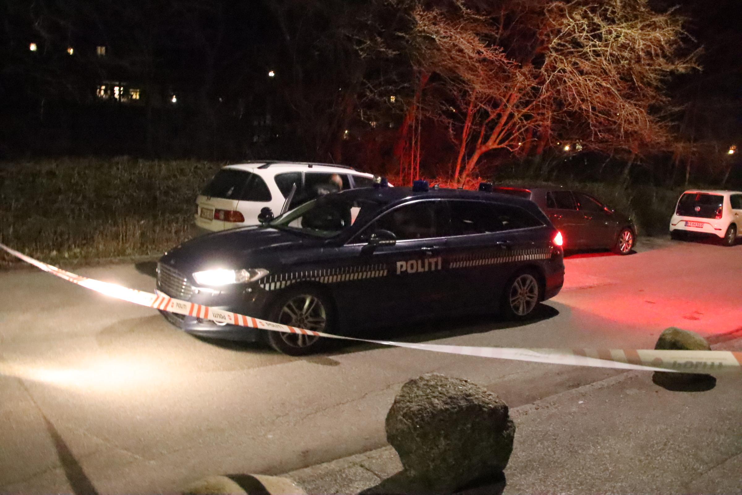 Politiaktion på Otto Benzons vej i Aarhus - Flere anholdte