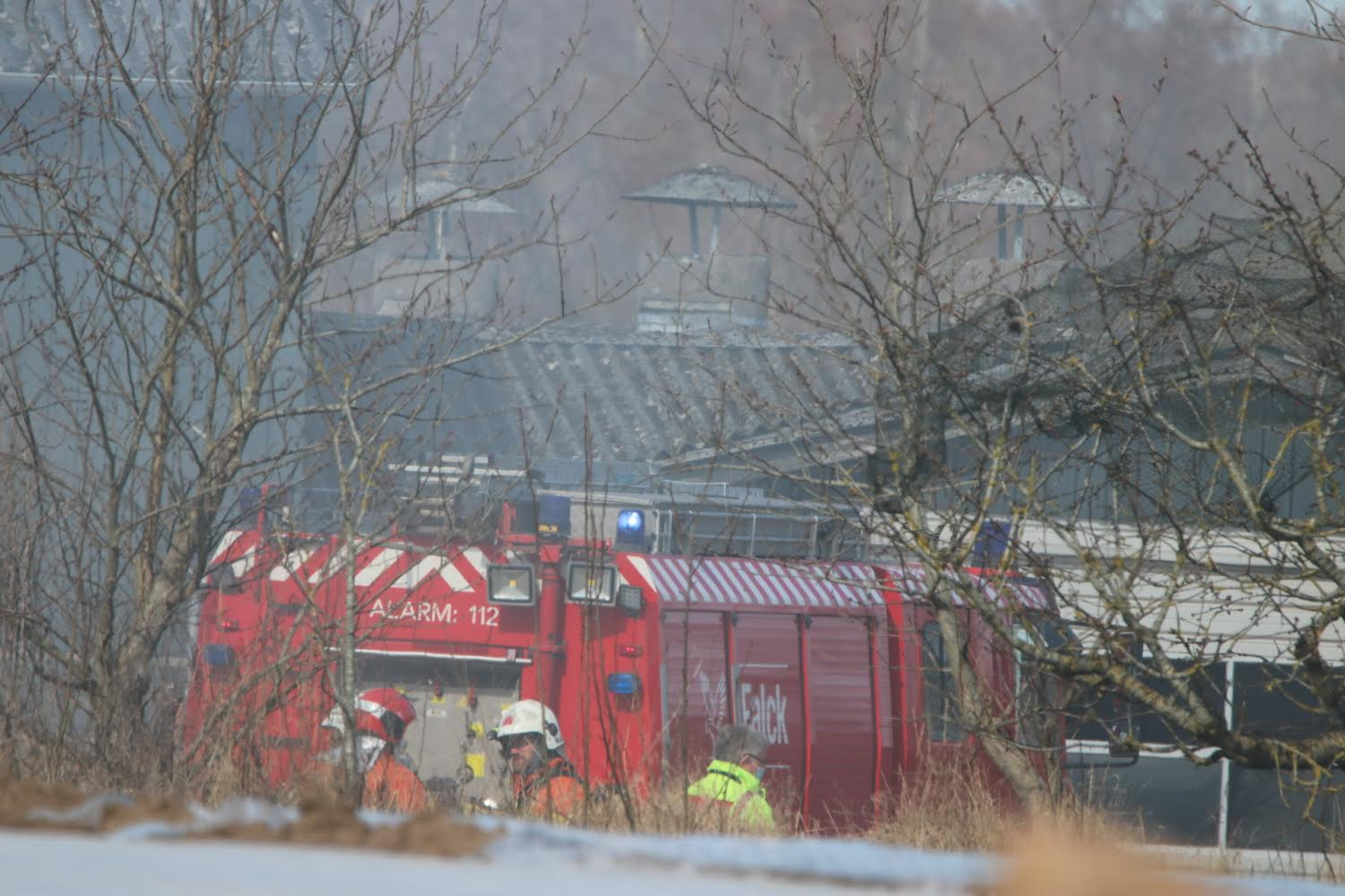 Brand i containere i Haarby
