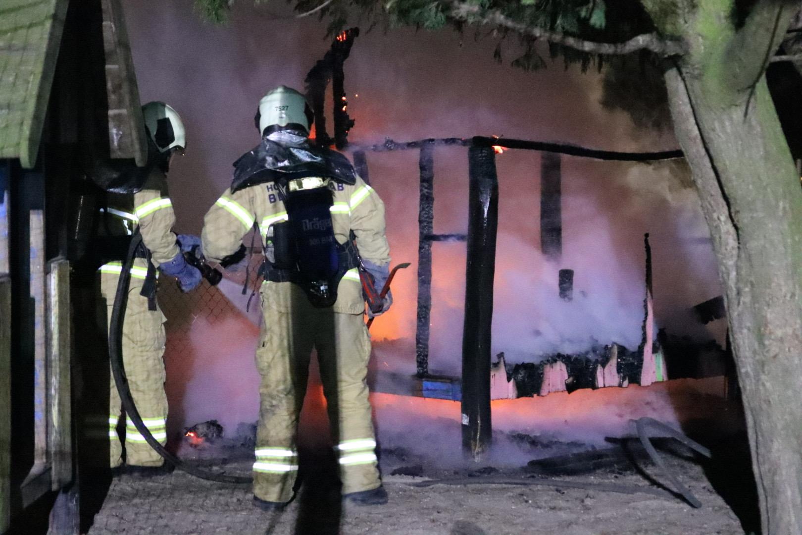 Brand på Nordstrandsskolen i Dragør