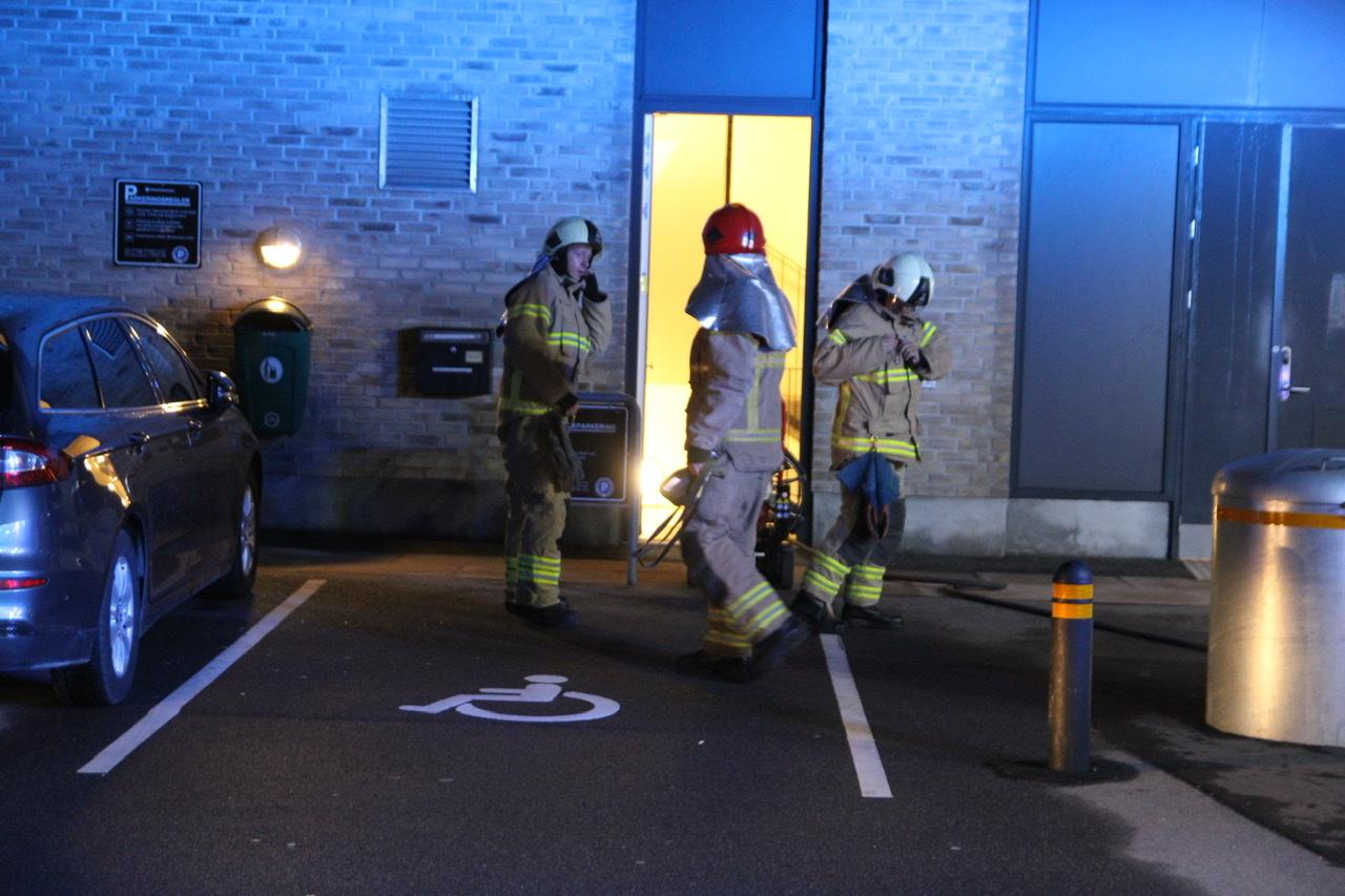 Brand på plejecenter i Valby