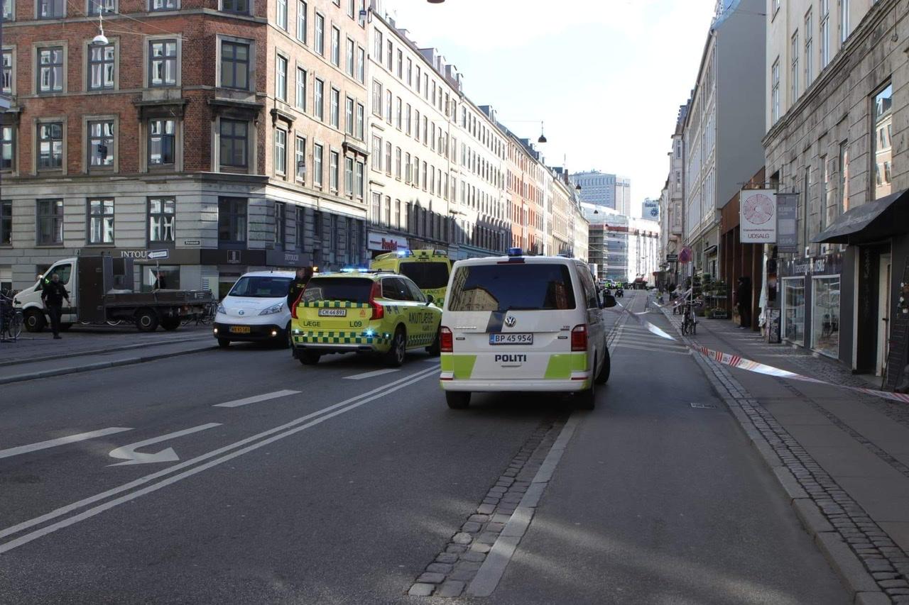 Alvorlig ulykke spærrer Vesterbrogade i København