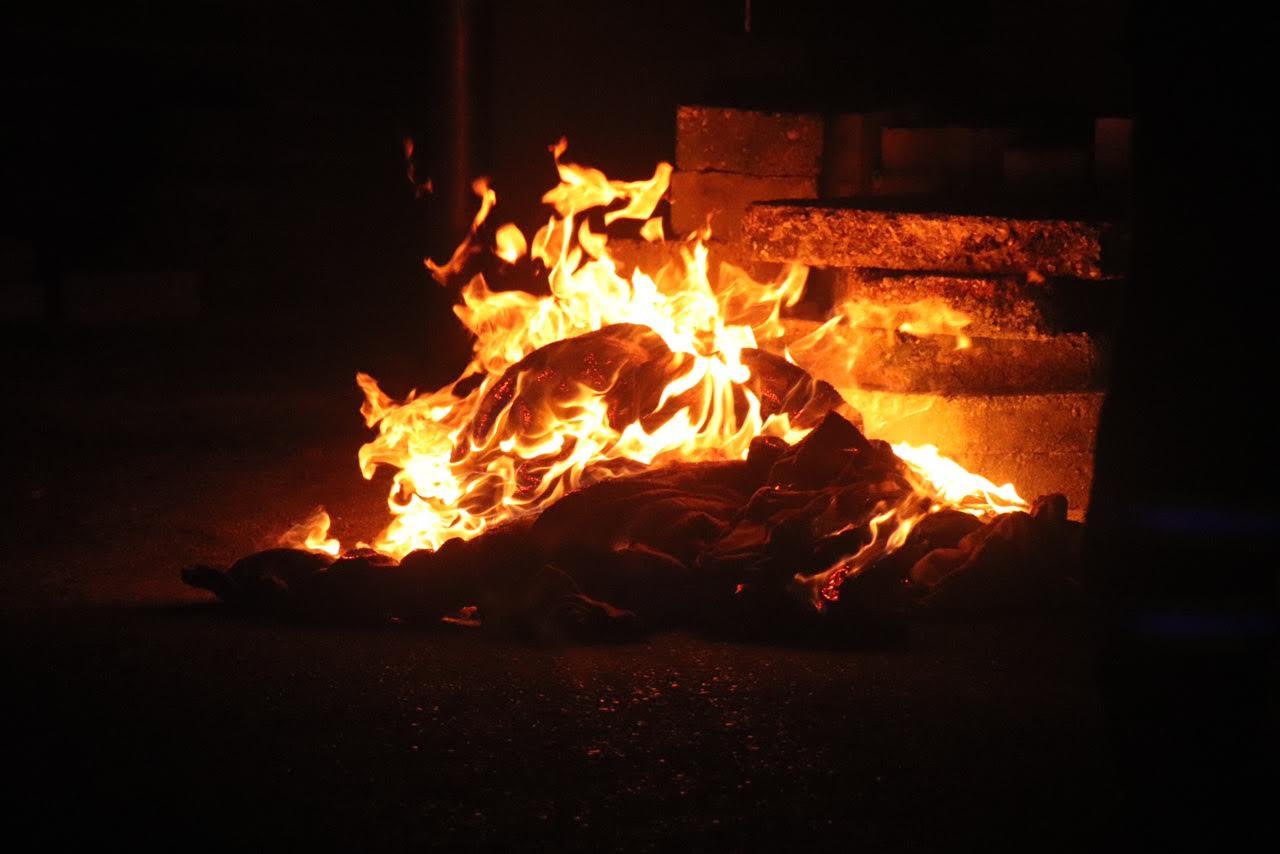 Brand i beboelse på Holtbjerg ved Herning