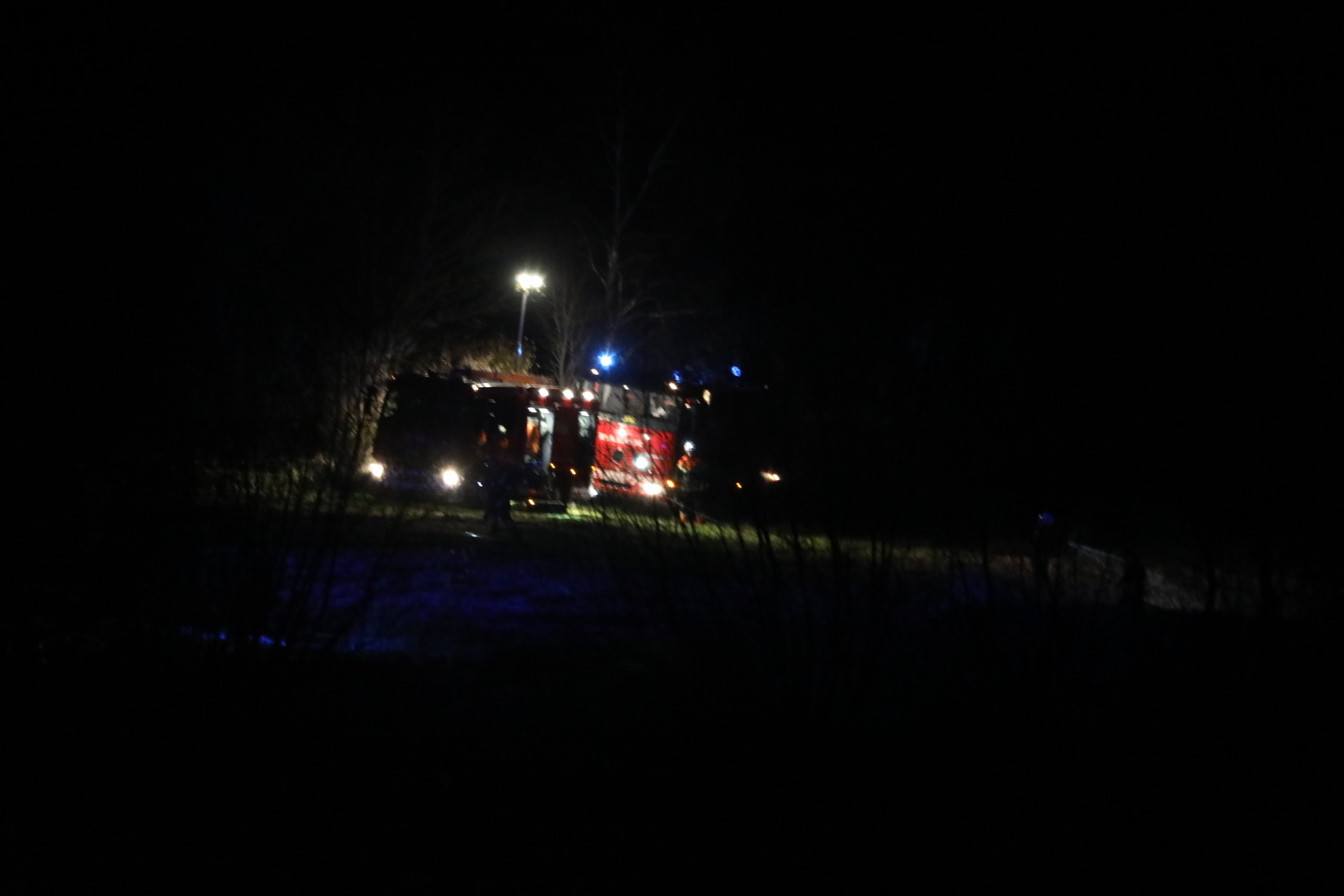 Naturbrand på Langeland
