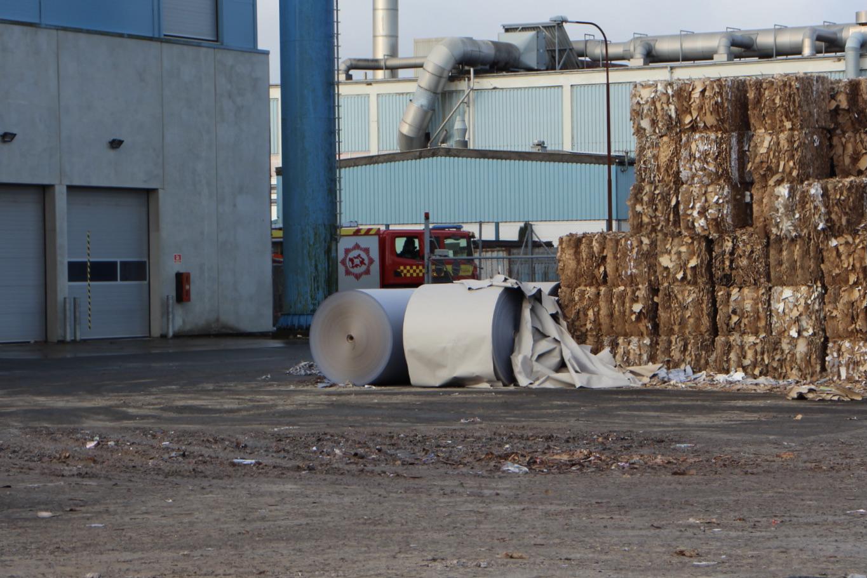 Skjern papirfabrik evakueret