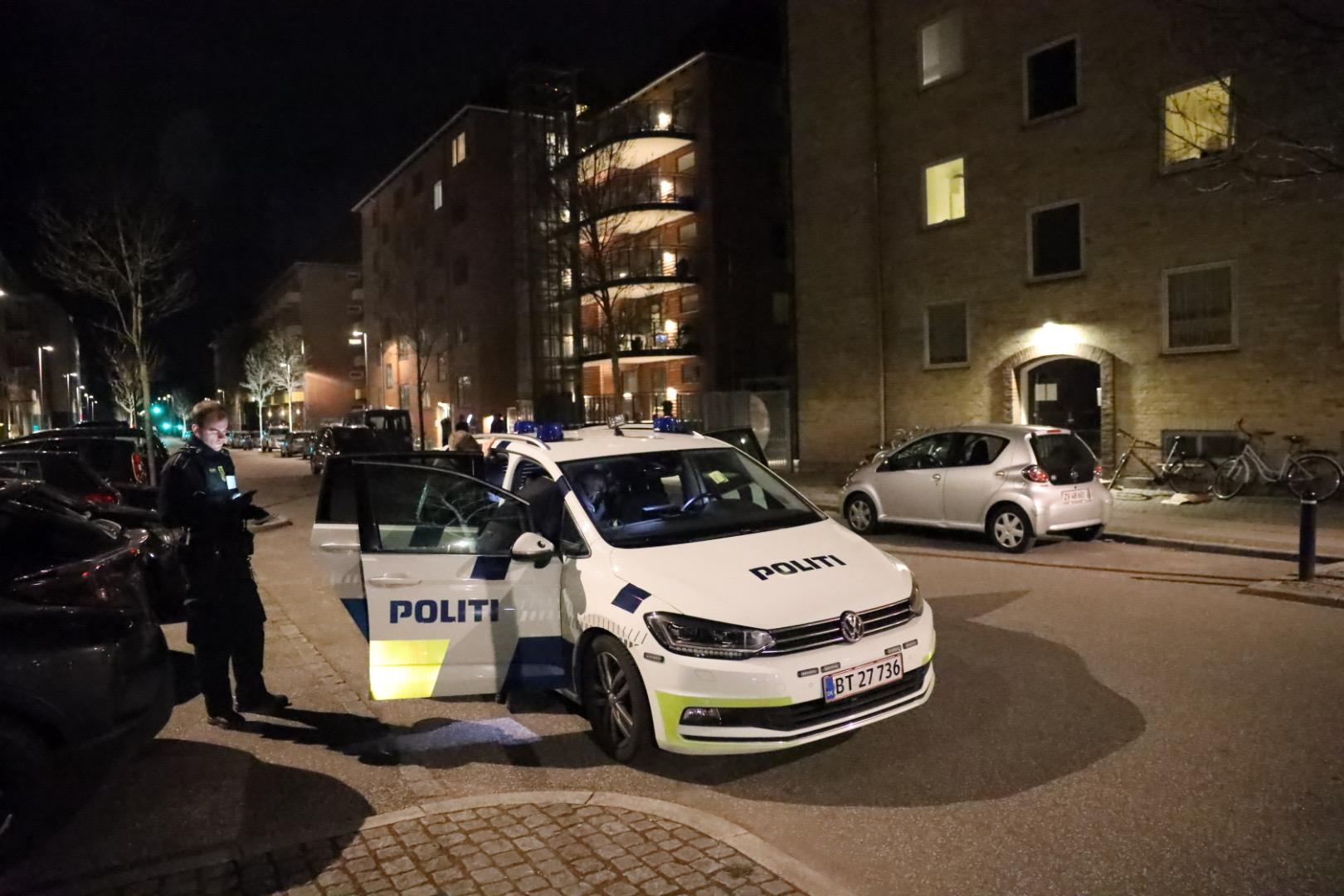 Politiaktion med én anholdt på Flintholm alle i København
