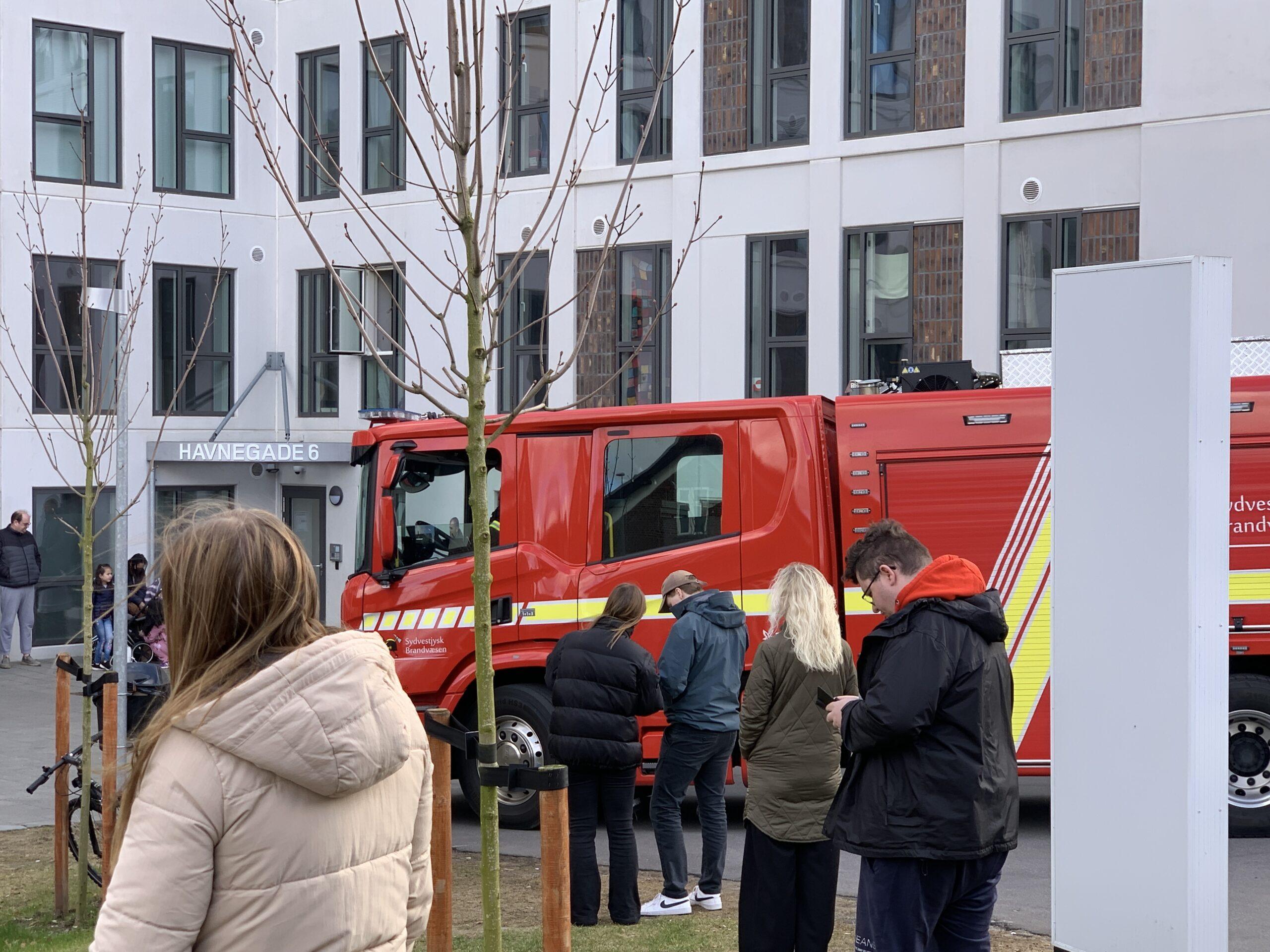 Automatisk brandalarm i Esbjerg