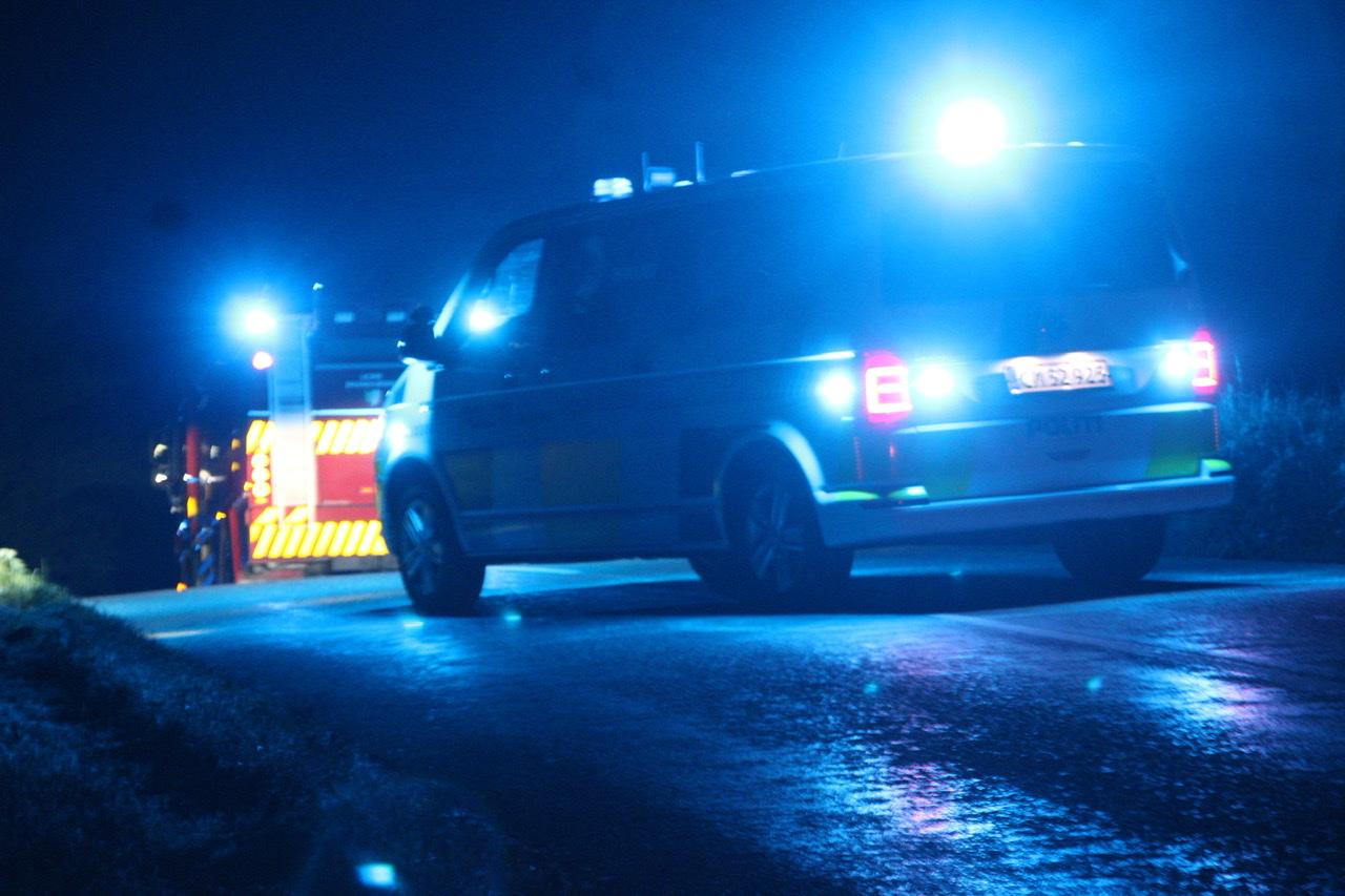 Ulykke i Hvalsø - bil ramt træ