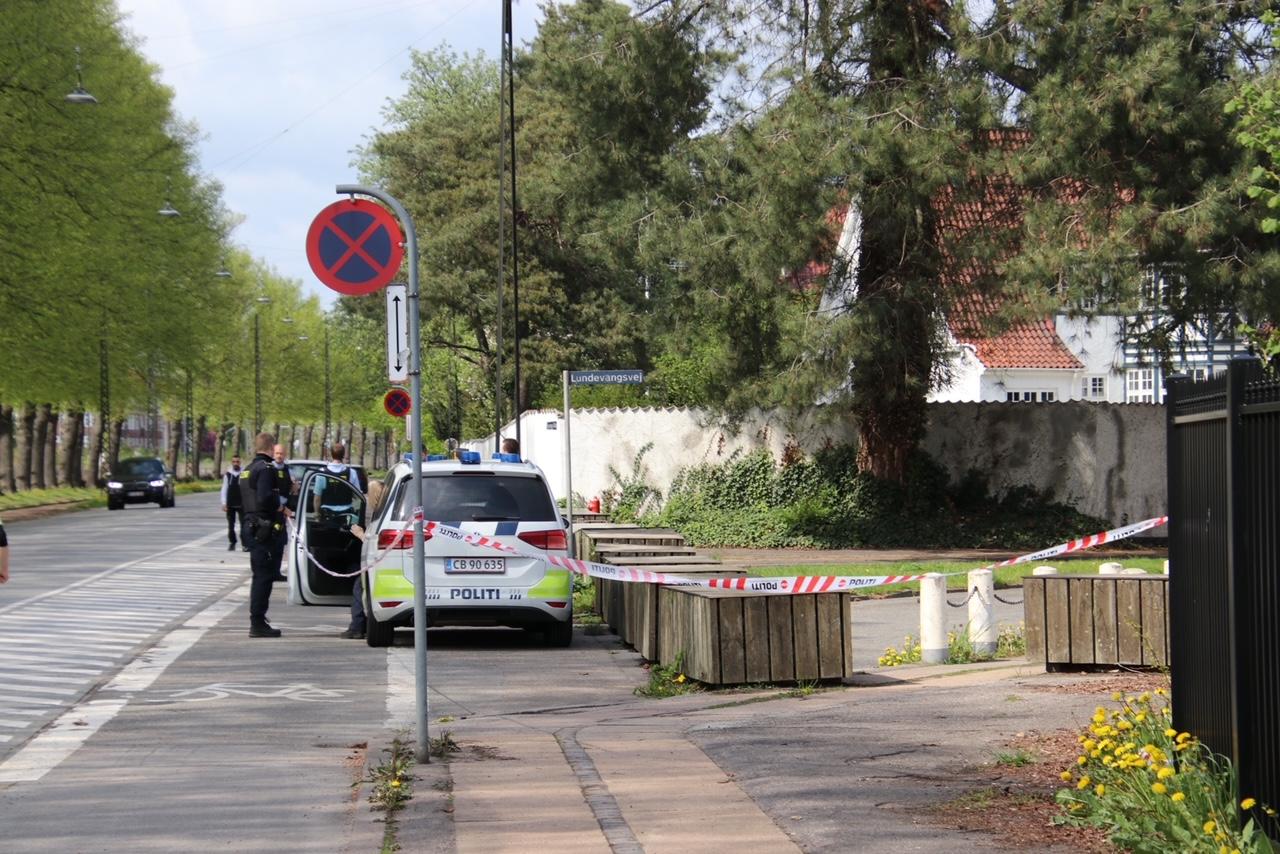 Stort politiopbud ved Israels ambassade
