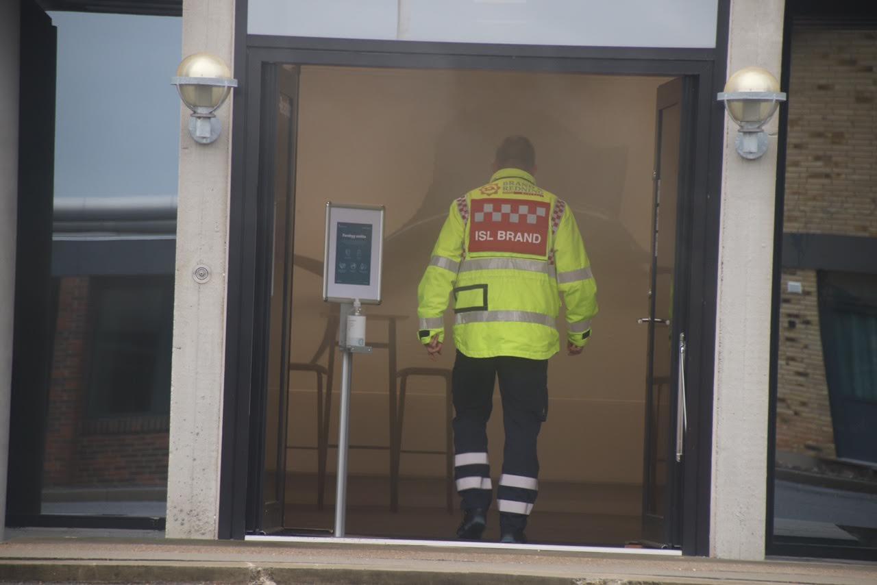 Aktiveret brandalarm ved JBS i Herning - udløst af røgkanon