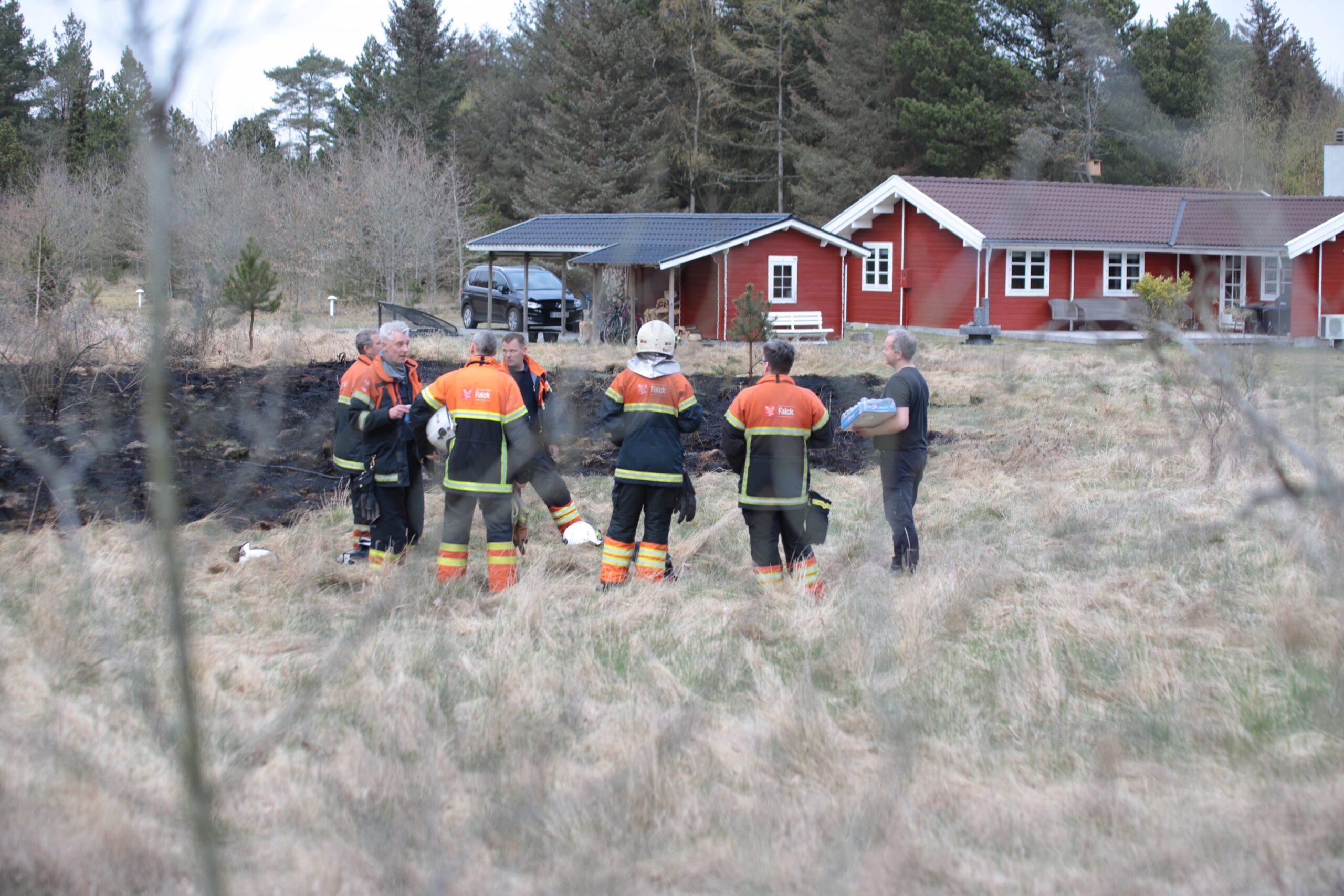 Naturbrand i Sæby