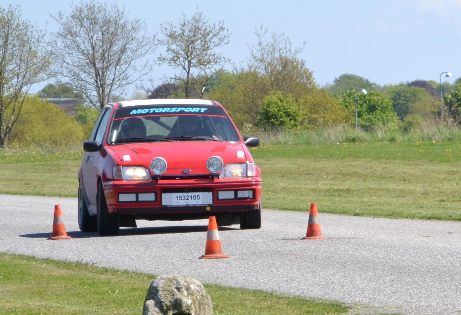 Ikast Rally løb - Afholdt søndag eftermiddag