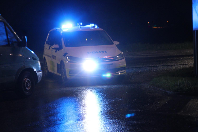 Politiet tilbageholder bil med selvskreven nummerplade- Roskilde
