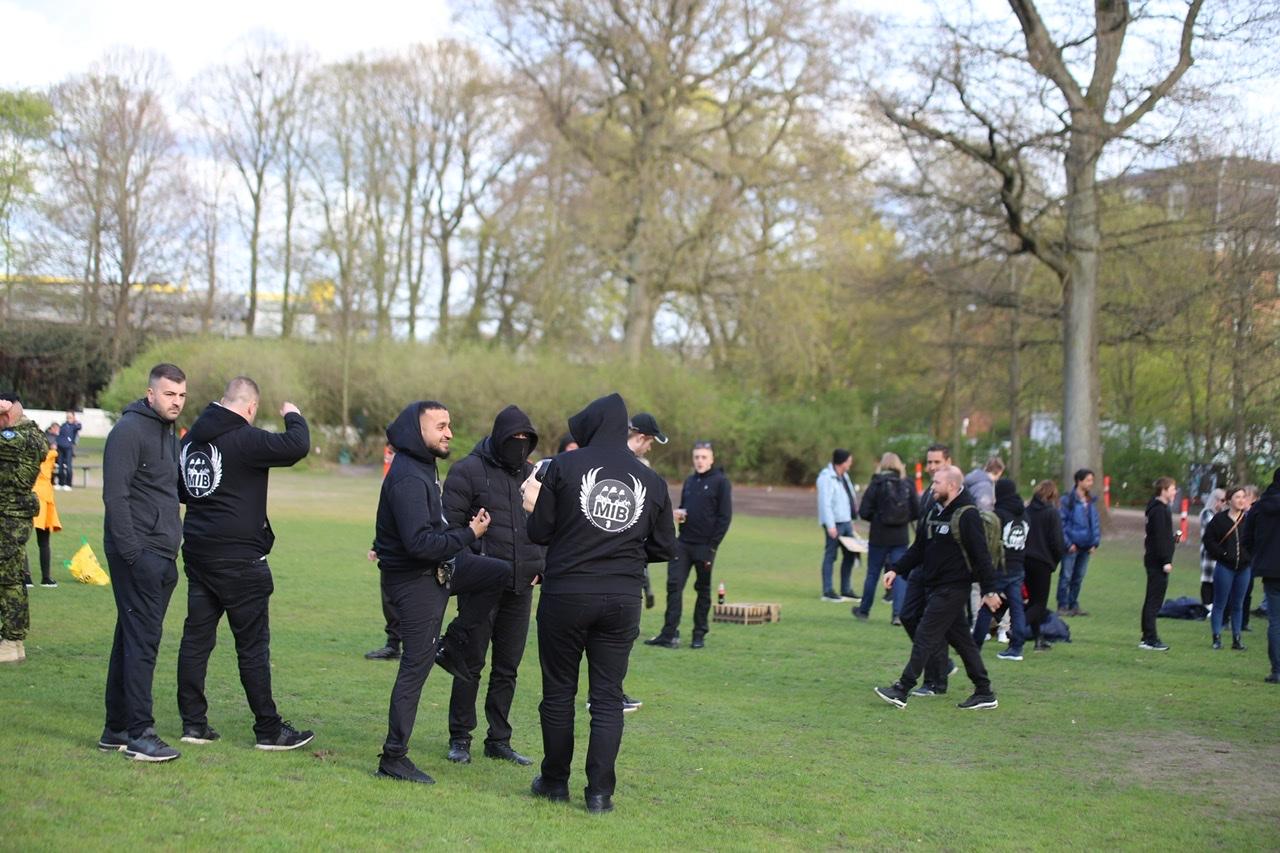 Men in Black demonstration i Aalborg