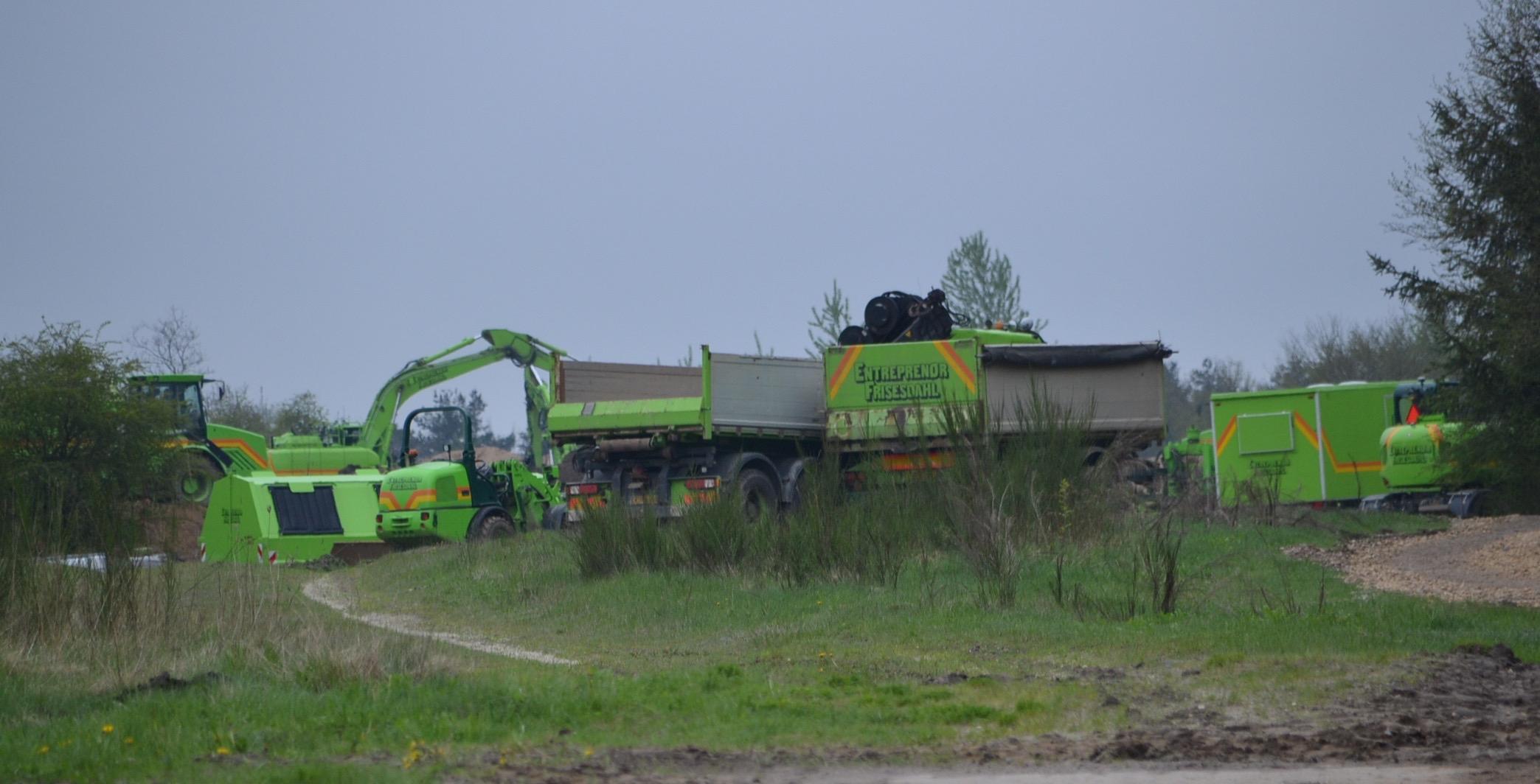 Mere end 4 millioner mink graves op fra militært område ved Holstebro