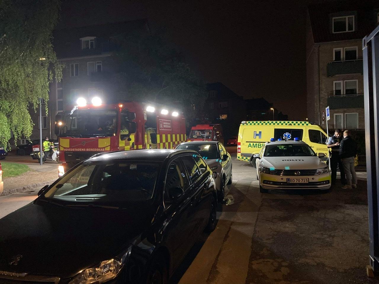 Uheld i København - bilist påkører flere biler