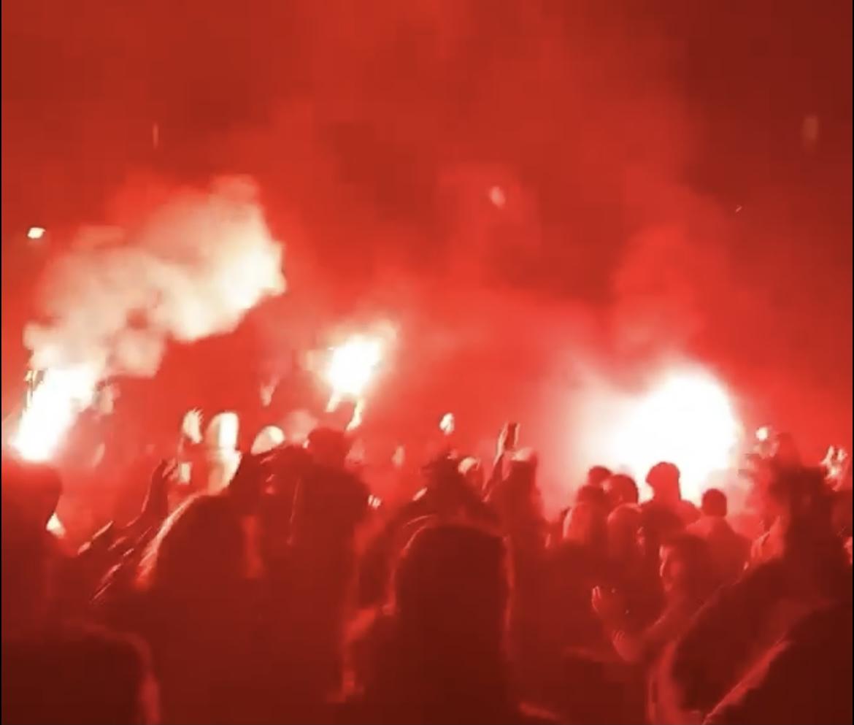 Kæmpe fest i Brøndby natten til fredag