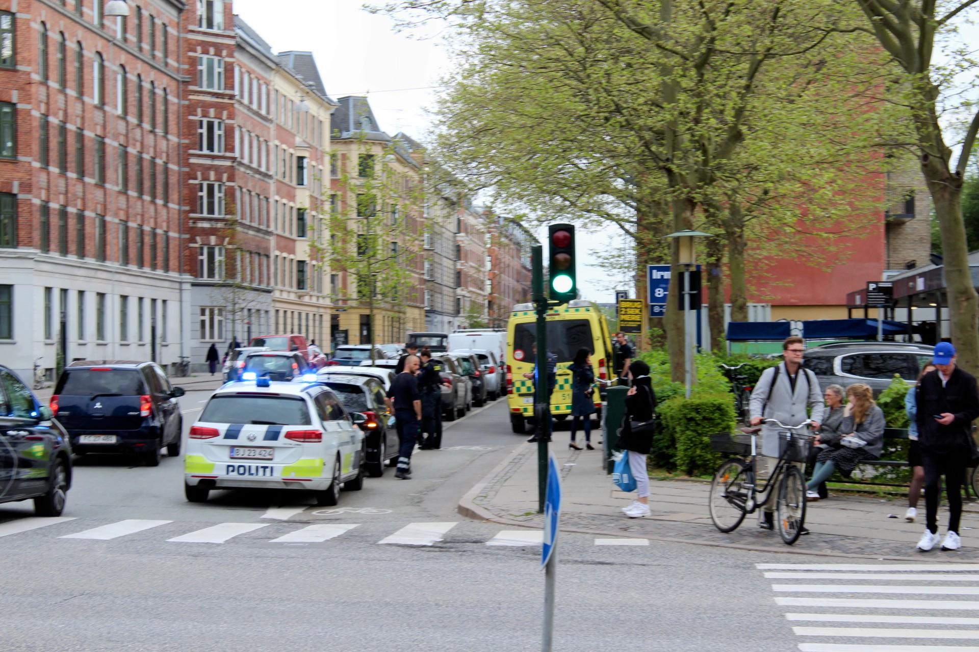 Mindre uheld i København