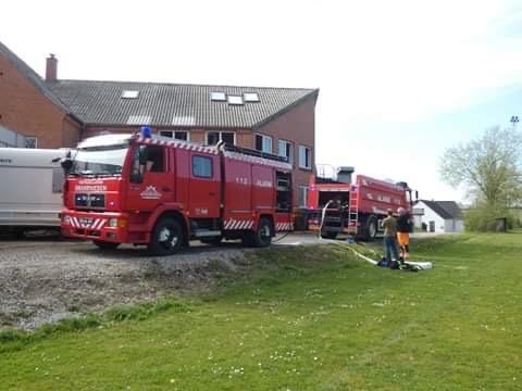 Kaldt ud til brand på Hjembæk Efterskole - Jyderup