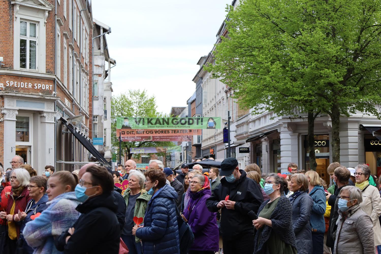 Demonstration i Odense - Modstand Fyn