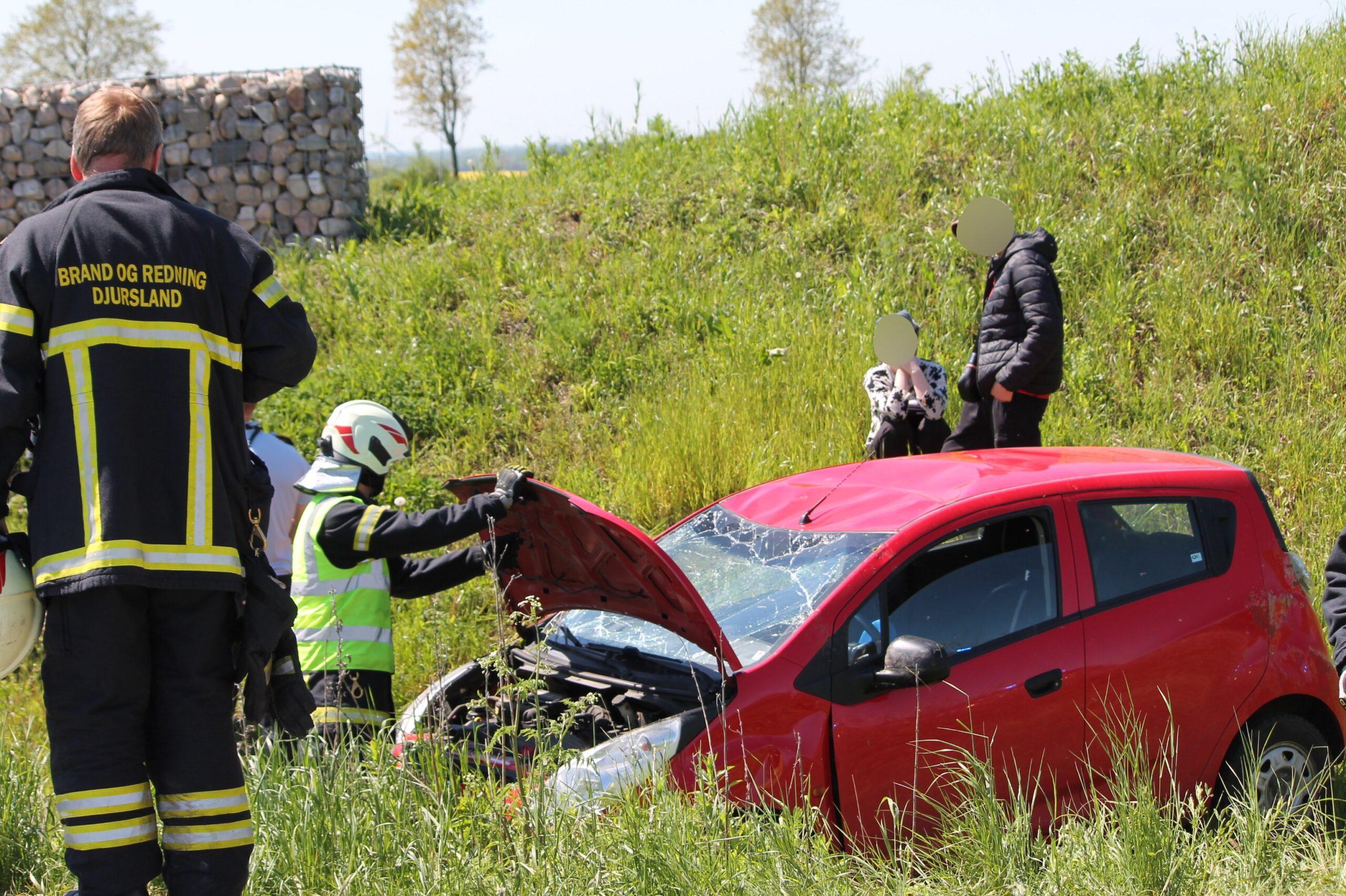Færdselsuheld ved Hjortshøj - Aarhus