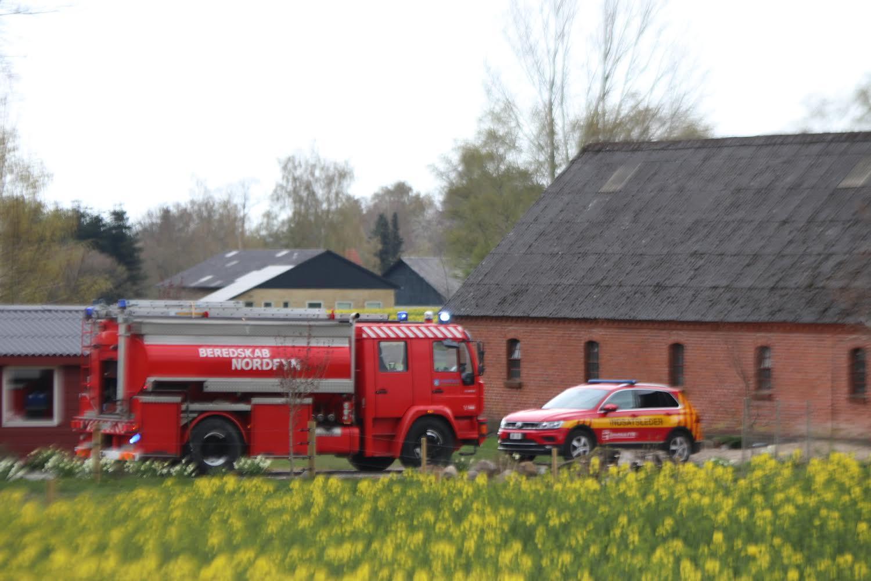 Brand i Veflinge på Fyn