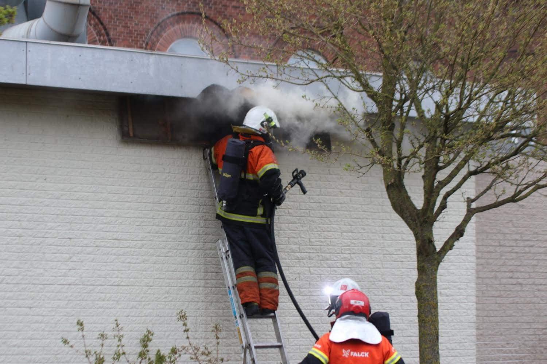 Brand på restaurant i Assens på Fyn